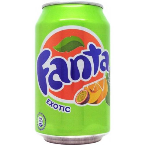 Fanta Exotic Can 330ml ( Denmark )